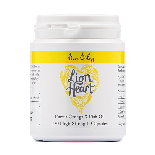 Bare Biology Lion Heart Purest Omega 3 Soft Gel Capsules - by Bare Biology by Bare Biology