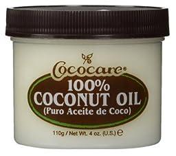 Cococare Coconut Oil 100% Pure 4 Oz (Pack of 2)