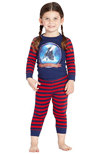 Polar Express The Train' Tight Fit Cotton Pajama Set]()