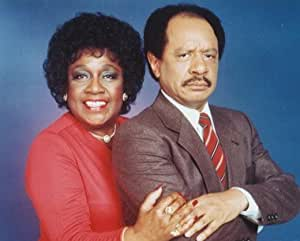 ISABEL SANFORD LOUISE JEFFERSON SHERMAN HEMSLEY GEORGE JEFFERSON THE JEFFERSONS 8X10 PHOTO