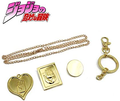 Box JOJO/'S BIZARRE ADVENTURE Necklace Keychain Alloy Pendant Collection WITH