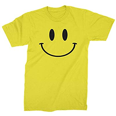 Expression Tees Emoticon Smile Face Mens T-Shirt Collection