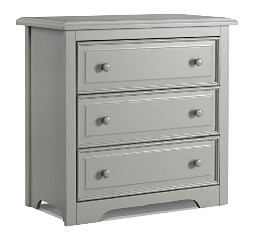 Graco Brooklyn 3 Drawer Chest, Pebble (Graco Wood)