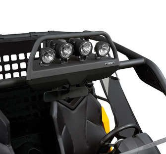 Light Rack for Roll Cage or Sport Roof - Can Am Commander