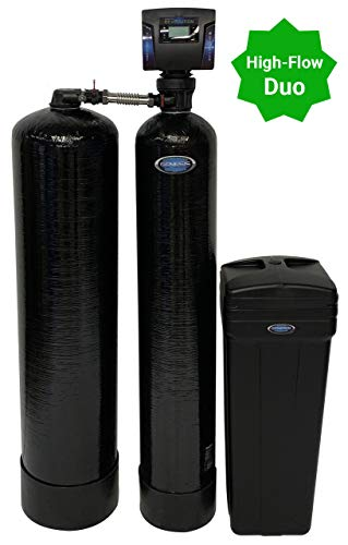 Genesis Revolution Duo Water Softener and Whole House Chlorine Filtration (40,000 Grains)