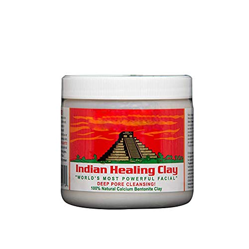 KAV PLUS Healing Bentonite Aztec Indian Clay Facial Mud Mask Clay Deep Pore Cleansing KAV PLUS®