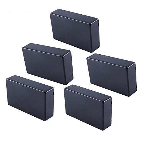 Yosoo 5 Pcs 100x60x25mm Plastic Cover Project Electronic Enclosure Instrument Case DIY Power Junction Box