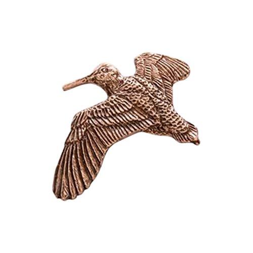 Cuivre ~ Bécasse Flying ~ Pin's (épinglette/Broche ~ BC027