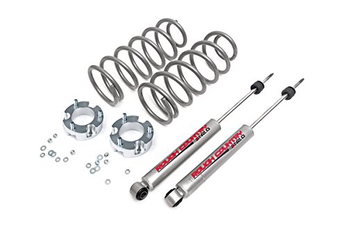 Rough Country - 771.20 - 3-inch Suspension Lift System w/ Premium N2.0 Shocks for Toyota: 96-02 4Runner 4WD (Rough Country Suspension Lift)