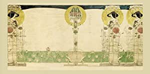 Decoration For Miss Cranstons Buchanan Str Tearooms Print Charles Mackintosh20x9