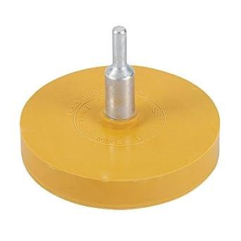 Silverline 509509 - Disco de goma quita-adhesivos, 85 mm: Amazon.es: Amazon.es