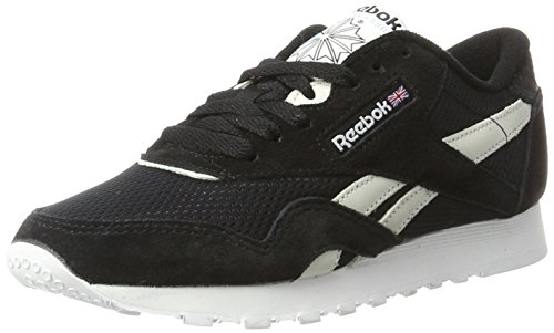 C Sneakers Nylon Reebok Black Flash Beige Basses Noir Femme White blue Electric Classic Fbt wTqBv