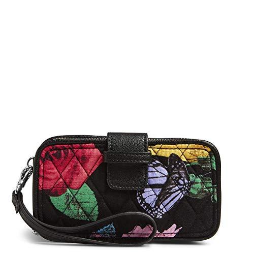 - Vera Bradley RFID Smartphone Wristlet Cotton 2, Havana Rose