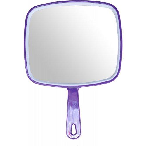 Hair dressing salon professional PURPLE hand held mirror D. Macintyre