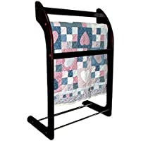 Proman 3 Level Mahogany Finish Quilt Rack