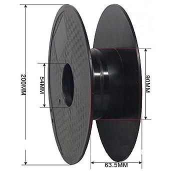 Carrete de filamento para impresora 3D vacío de 54 mm: Amazon.es ...