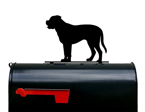 Mastiff Dog Mailbox Topper / Plaque / Sign by NewnanMetalWorks