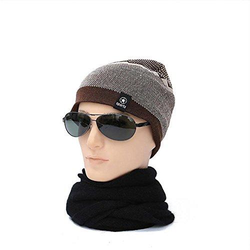 Libre 001 Punto al Sombrero Hombres 002 de Invierno MAOXZI Deportes los Tapa de de Aire de de zFnWaqUw
