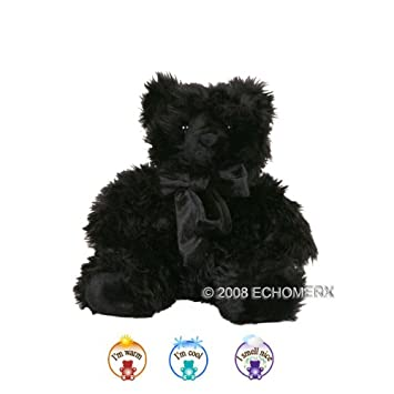 Amazon aromatherapy black teddy bear microwavable hot cold aromatherapy black teddy bear microwavable hot cold altavistaventures Choice Image