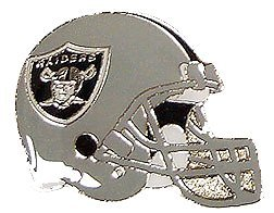 (NFL Oakland Raiders Helmet Pin )
