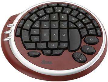 Max in power teclado Gaming Pad, teclado redondo especial para Gamer, 55 teclas, USB, Rojo