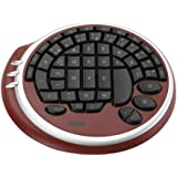Max In Power Clavier GAMING PAD, clavier rond spécial pour Gamer, 55 touches, USB, rouge