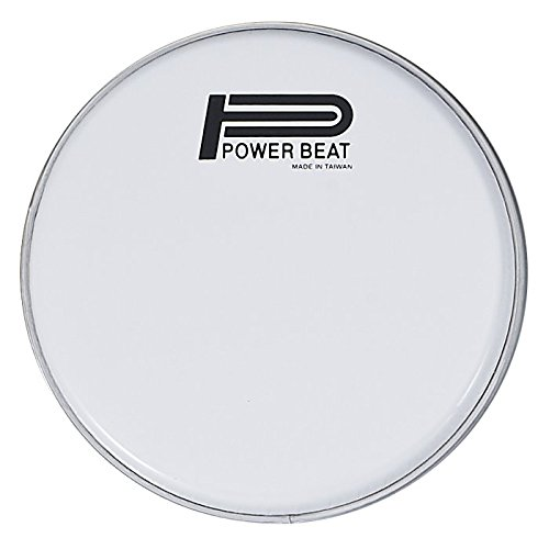 8.75'' Power Beat Drum Head Dupont Mylar 0.250mm Collar/0.5''- For Darbuka/Doumbek (Pure White) by Power Beat