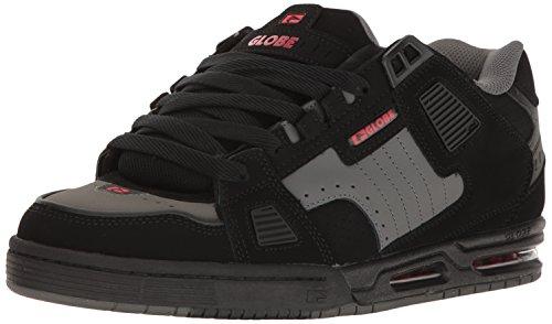 GlobeSabre - Zapatillas de Deporte hombre Black-Pewter-Red