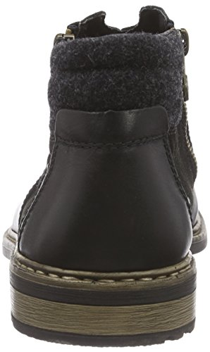 RiekerF1262 - Zapatillas de Estar Por Casa hombre negro - Noir (schwarz/schwarz/anthrazit / 03)