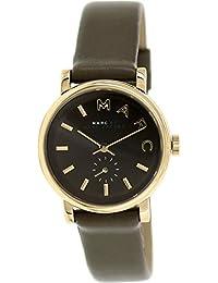 Marc by Marc Women's Baker MBM1330 Olive Leather Swiss Quartz Watch