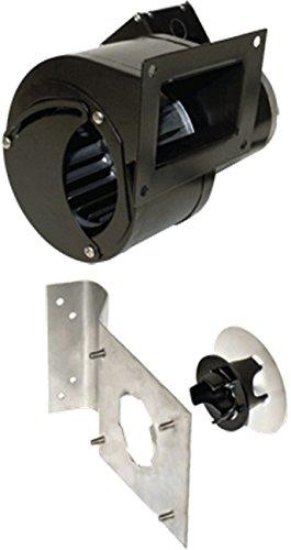 J&D VBM148A-P 1/30HP 120 Volt PSC Inflation Blower Motor, Square Mountimg Flange with Damper.5 Amp, 60Hz, 3200 - Blower Motor Electric