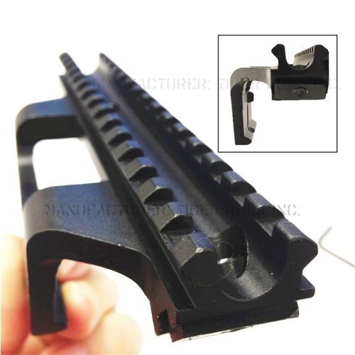 - Tactical M1A M14 Rifle See-Thru Low Profile Aluminum Scope Mount