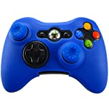 Pandaren Soft Silicone Skin for Xbox 360 Controller Set(Blue Skin X 1 + Thumb Grip X 2) Review
