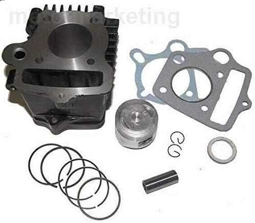 Untimero 70 Ccm Zylinder Kit Kolben Set Komplett Für Honda Ct70 Ct Motra St70 St Dax Zylinderkit Auto