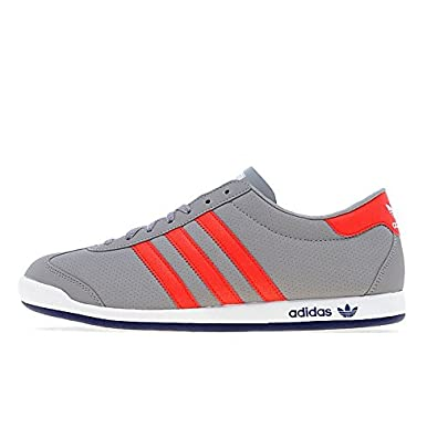 quality design cbf53 286ee adidas Originals The Sneeker Grey Red Blue White (UK 8   US