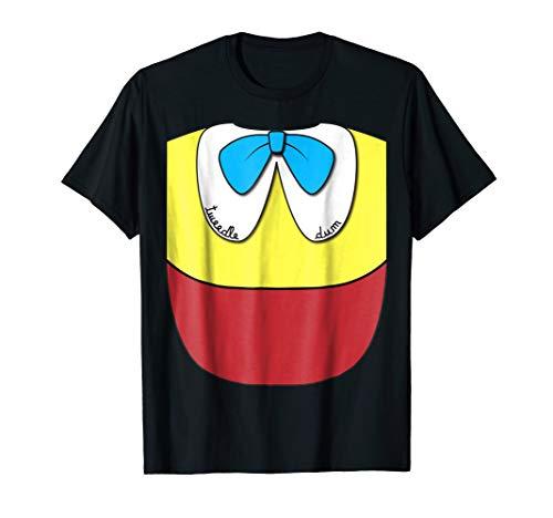 Tweedle Dum Easy T-Shirt Halloween Matching Couples Costume -
