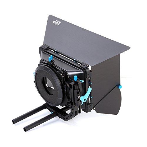 Fotga DP3000 M3 Swing-Away Matte Box for 15mm Rail Rod Follow Focus  Rig Canon EOS R EOS-1D X Mark II 5D II III IV 5DS R 6D 7D II EOS M50 M100 Nikon D3500 Z6 Z7 D5 D850 D90 D750 Sony A7 A7R A7S II III