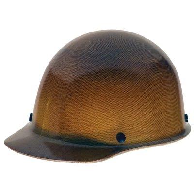 MSA 475395 Skullgard Protective Hard Hat Front Brim, Fas-Trac III Suspension, Standard Size, Natural Tan by MSA
