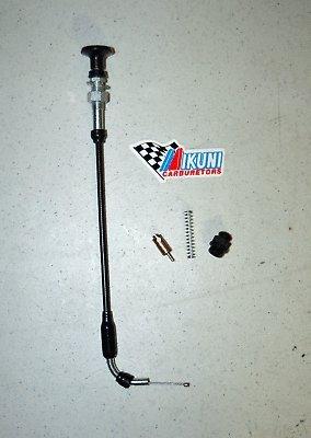 Genuine Mikuni HSR42 HSR45 Carburetor Choke parts kit (Mikuni Cable)