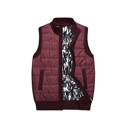 3 Automne Fuweiencore Warm couleur Gilet Taille Épaississement Couleur Plus 5 Loisirs Vest Hiver Taille Unie Casual 4 Velvet Business Xl Cardigan coloré L Hommes q66awrXp