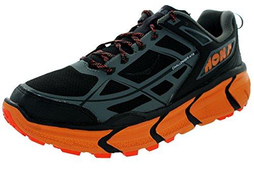 Hoka One One Challenger ATR Running Shoe - Men's Black/Burnt Orange 11
