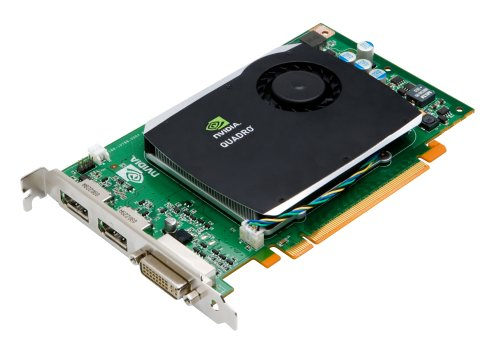 NVIDIA Quadro FX 580 by PNY 512MB GDDR3 PCI Express Gen 2 x16 DVI-I DL and Dual DisplayPort OpenGL, DirectX, CUDA and OpenCL Profesional Graphics Board, VCQFX580-PCIE-PB (X Connector Express Pci 16)