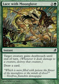 Magic: the Gathering - Lace with Moonglove - Lorwyn