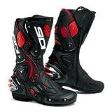 Sidi Women's Vertigo Lei Boots - 8.5 US / 41 Euro/Black Vernice/Pink