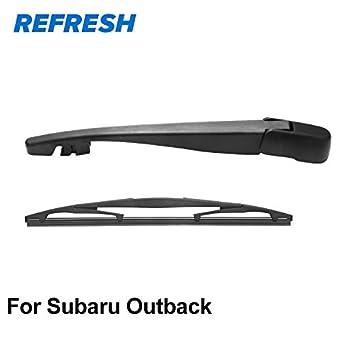 Wipers Rear Wiper Arm /& Rear Wiper Blade for Subaru Outback