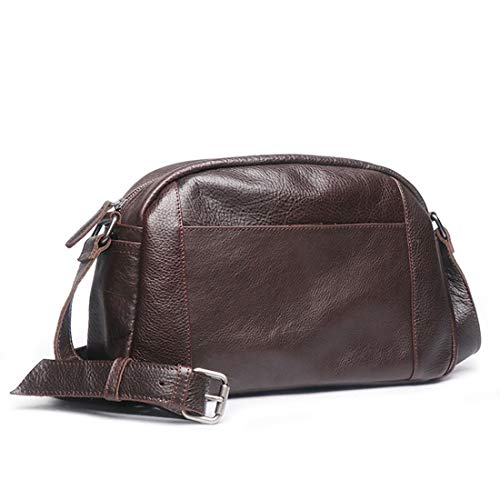 Bandoulière Vachette Vintage Bookbag color Travail Sac Le Business Brown Dos Véritable Pour Cuir Messenger À School Felicioo Traval De Bag Brown qSCE8wtFx