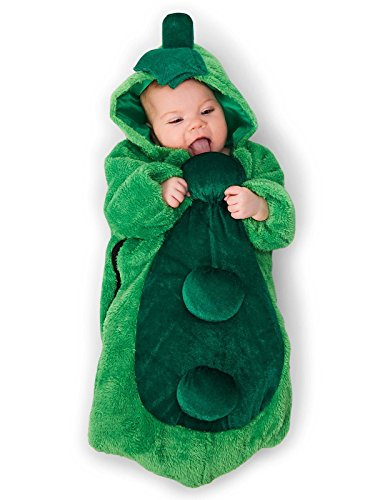 Party Time Mfg. Co. - Pea in the Pod Infant Bunting Costume - 0-6M