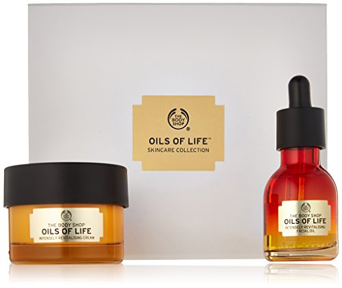 The Body Shop Oils Of Life Intensely Revitalising Gift Set, 2pc. Skin Care Set