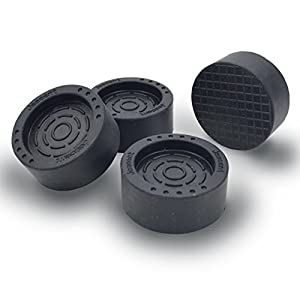 Anti Vibration Pads Rubber Silent Feet Pads for Washing Machine and Dryer 4 pack