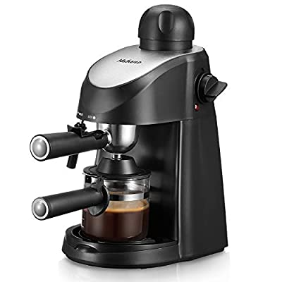 Yabano Espresso Machine, 3.5Bar Espresso Coffee Maker, Espresso and Cappuccino Machine with Milk Frother, Espresso Maker with Steamer by Yabano